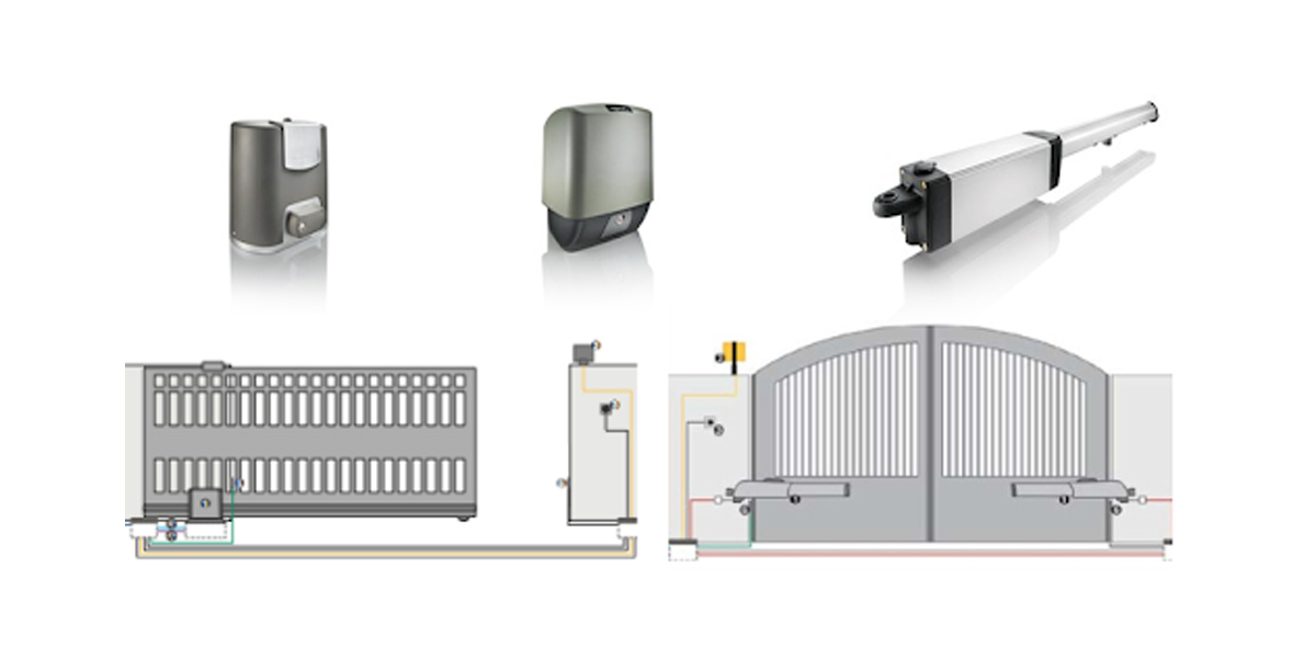 Bahçe Kapı Otomasyonları  || SBR Mühendislik