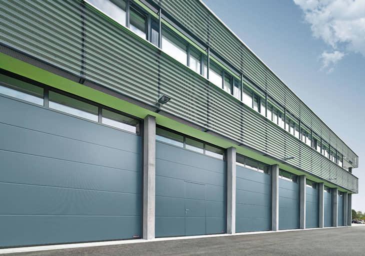 Endüstriyel Kapılar || SBR Mühendislik